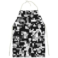 Noise Texture Graphics Generated Full Print Aprons
