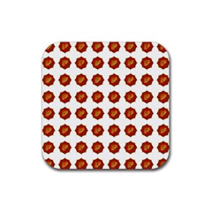 I Ching Set Collection Divination Rubber Square Coaster (4 Pack)