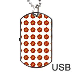 I Ching Set Collection Divination Dog Tag Usb Flash (one Side)