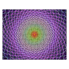 Art Digital Fractal Spiral Spin Rectangular Jigsaw Puzzl