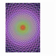 Art Digital Fractal Spiral Spin Large Garden Flag (two Sides)