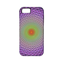 Art Digital Fractal Spiral Spin Apple Iphone 5 Classic Hardshell Case (pc+silicone)