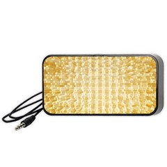 Pattern Abstract Background Portable Speaker