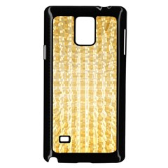 Pattern Abstract Background Samsung Galaxy Note 4 Case (black)
