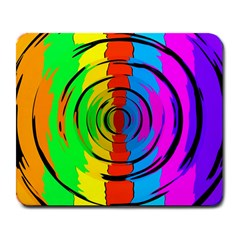 Pattern Colorful Glass Distortion Large Mousepads