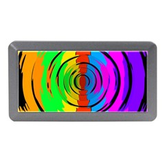 Pattern Colorful Glass Distortion Memory Card Reader (mini)