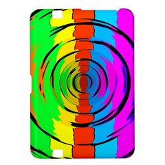 Pattern Colorful Glass Distortion Kindle Fire Hd 8 9