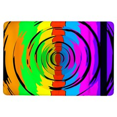 Pattern Colorful Glass Distortion Ipad Air Flip