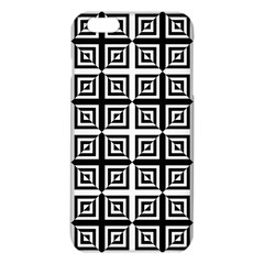 Seamless Pattern Background Black And White Iphone 6 Plus/6s Plus Tpu Case