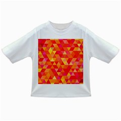 Triangle Tile Mosaic Pattern Infant/toddler T Shirts