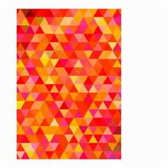 Triangle Tile Mosaic Pattern Small Garden Flag (two Sides)