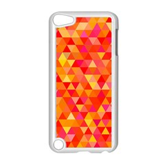Triangle Tile Mosaic Pattern Apple Ipod Touch 5 Case (white)