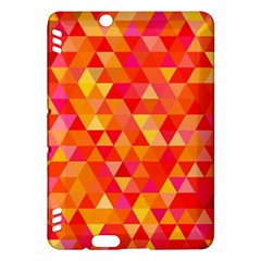 Triangle Tile Mosaic Pattern Kindle Fire Hdx Hardshell Case