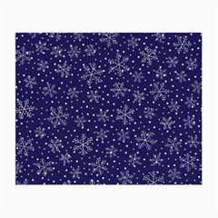 Snowflakes Pattern Small Glasses Cloth (2 Side)
