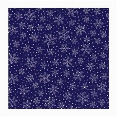 Snowflakes Pattern Medium Glasses Cloth (2 Side)