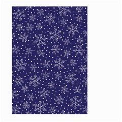Snowflakes Pattern Large Garden Flag (two Sides)