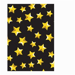 Yellow Stars Pattern Small Garden Flag (two Sides)