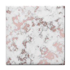 Pure And Beautiful White Marple And Rose Gold, Beautiful ,white Marple, Rose Gold,elegnat,chic,modern,decorative, Face Towel