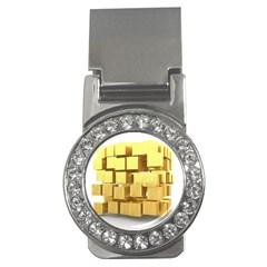 Gold Bars Feingold Bank Money Clips (cz)