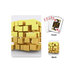 Gold Bars Feingold Bank Playing Cards (mini)