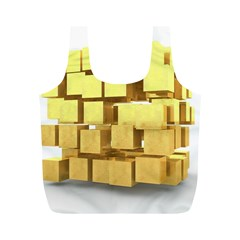 Gold Bars Feingold Bank Full Print Recycle Bags (m)