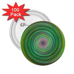 Wire Woven Vector Graphic 2 25  Buttons (100 Pack)