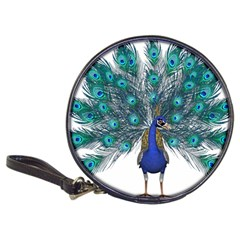 Peacock Bird Peacock Feathers Classic 20 Cd Wallets