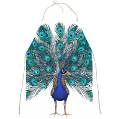 Peacock Bird Peacock Feathers Full Print Aprons
