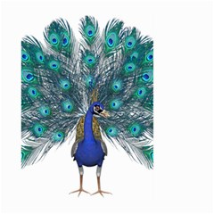 Peacock Bird Peacock Feathers Large Garden Flag (two Sides)