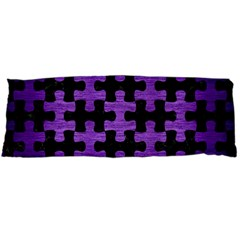 Puzzle1 Black Marble & Purple Brushed Metal Body Pillow Case Dakimakura (two Sides)