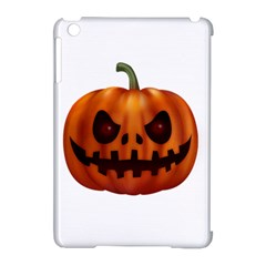 Halloween Pumpkin Apple Ipad Mini Hardshell Case (compatible With Smart Cover)