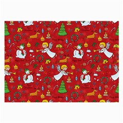 Christmas Pattern Large Glasses Cloth (2 Side)