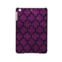 Tile1 Black Marble & Purple Leather Ipad Mini 2 Hardshell Cases