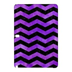 Chevron3 Black Marble & Purple Watercolor Samsung Galaxy Tab Pro 10 1 Hardshell Case