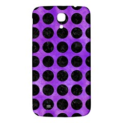 Circles1 Black Marble & Purple Watercolor Samsung Galaxy Mega I9200 Hardshell Back Case