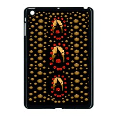 Pumkin Witch In Candles And White Magic Apple Ipad Mini Case (black)
