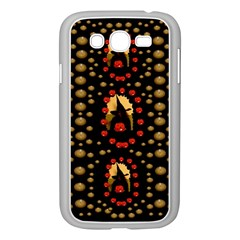 Pumkin Witch In Candles And White Magic Samsung Galaxy Grand Duos I9082 Case (white)