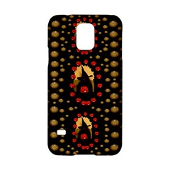 Pumkin Witch In Candles And White Magic Samsung Galaxy S5 Hardshell Case
