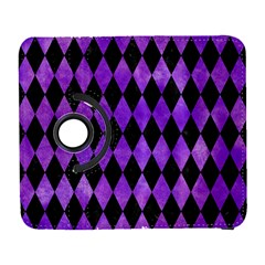 Diamond1 Black Marble & Purple Watercolor Galaxy S3 (flip/folio)