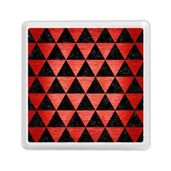Triangle3 Black Marble & Red Brushed Metal Memory Card Reader (square)