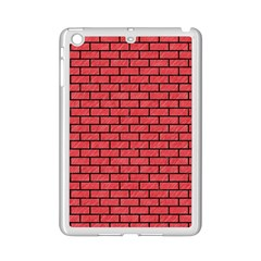 Brick1 Black Marble & Red Colored Pencil Ipad Mini 2 Enamel Coated Cases