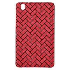 Brick2 Black Marble & Red Colored Pencil Samsung Galaxy Tab Pro 8 4 Hardshell Case