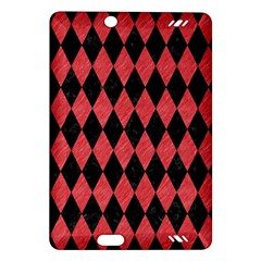 Diamond1 Black Marble & Red Colored Pencil Amazon Kindle Fire Hd (2013) Hardshell Case