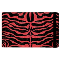 Skin2 Black Marble & Red Colored Pencil (r) Apple Ipad 2 Flip Case