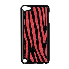 Skin4 Black Marble & Red Colored Pencil Apple Ipod Touch 5 Case (black)