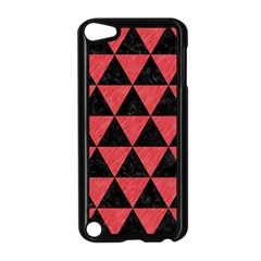 Triangle3 Black Marble & Red Colored Pencil Apple Ipod Touch 5 Case (black)