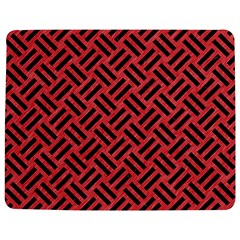 Woven2 Black Marble & Red Colored Pencil Jigsaw Puzzle Photo Stand (rectangular)