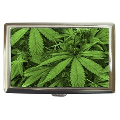 Marijuana Plants Pattern Cigarette Money Cases