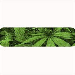 Marijuana Plants Pattern Large Bar Mats