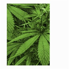 Marijuana Plants Pattern Small Garden Flag (two Sides)